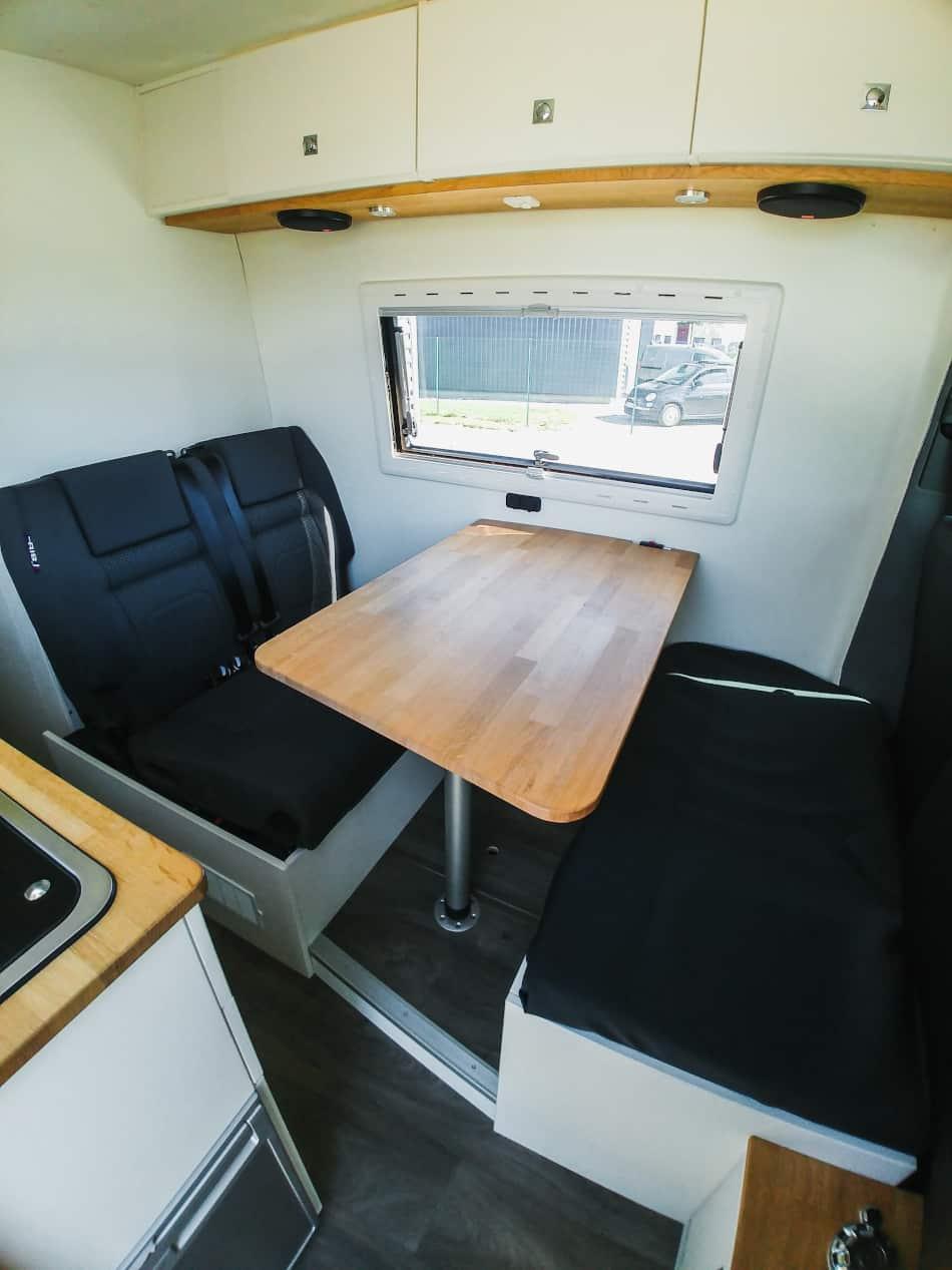 table amovible véhicule aménagé